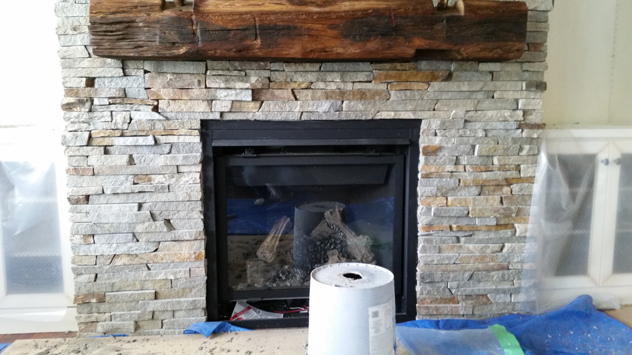 Stone Fireplace Contractor Amplify Masonry Toronto Gta