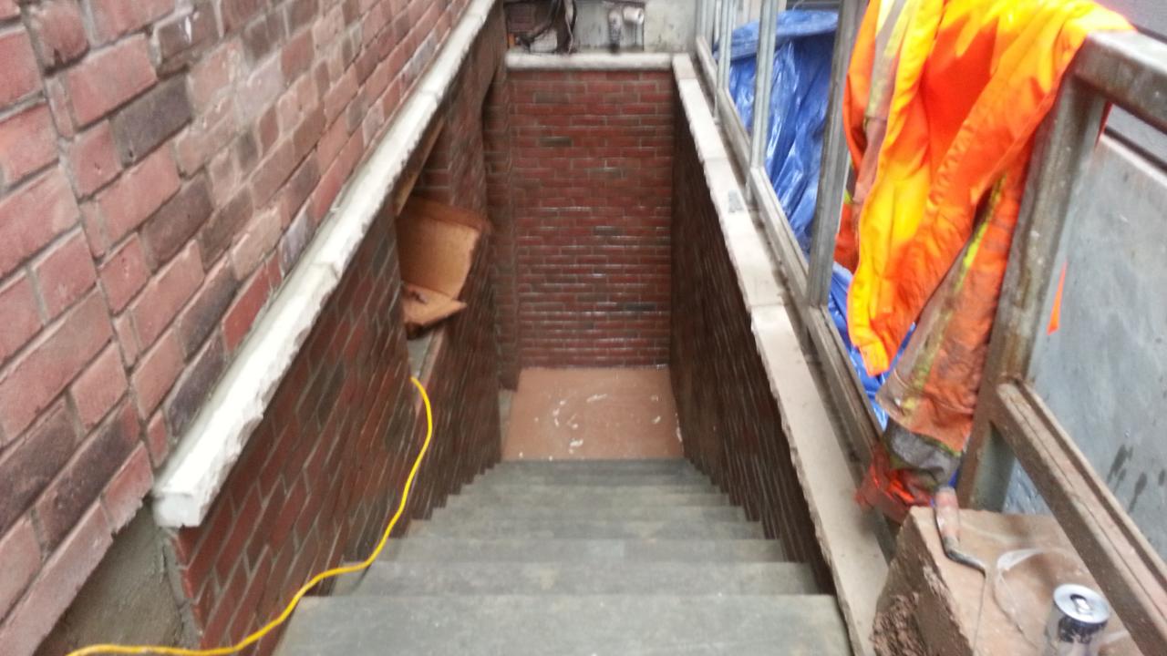 Fireproof Four Inch Masonry Brick Panel : Residential masonry contractors top quality mason