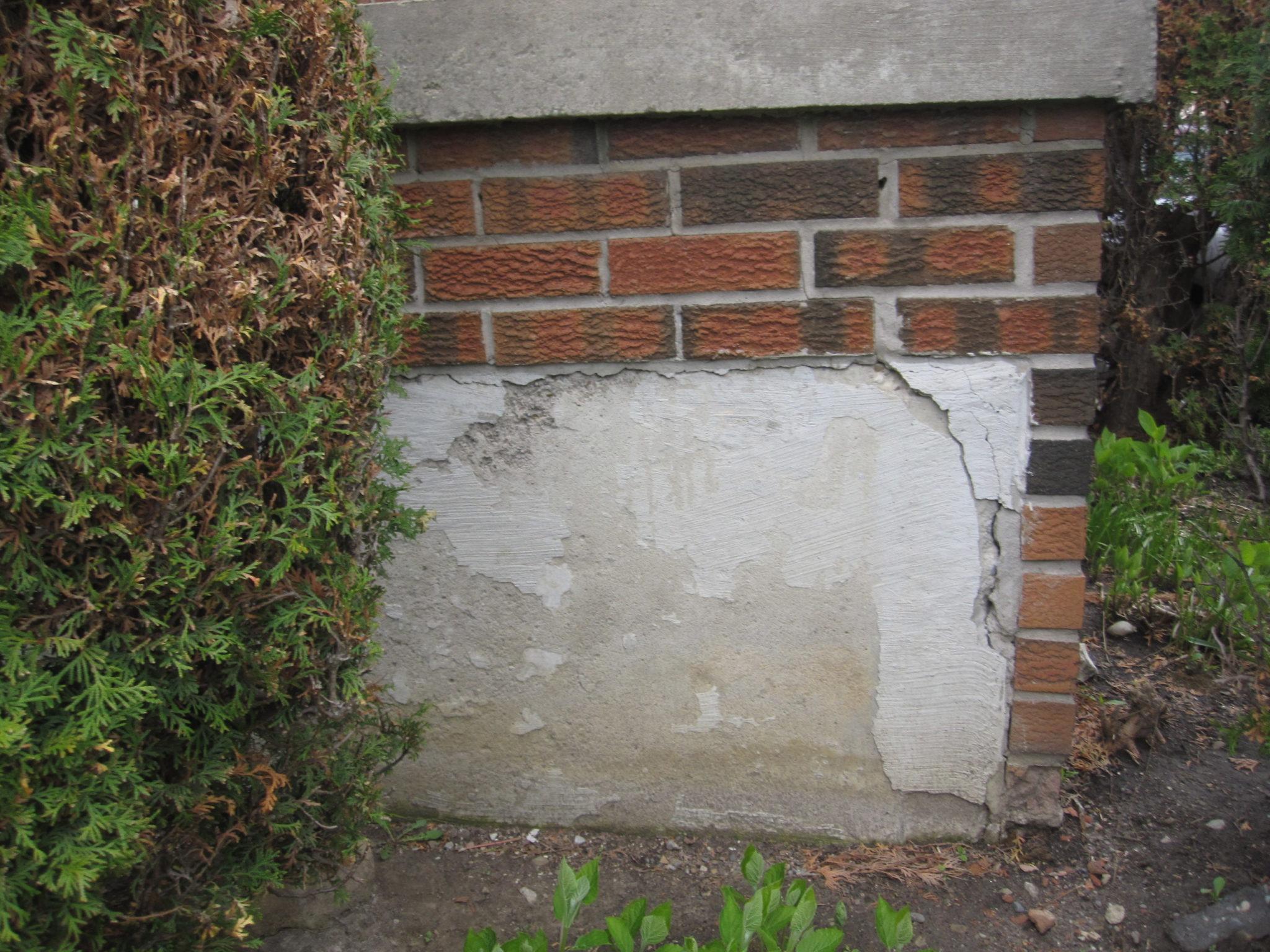 foundation parging exterior foundation parging