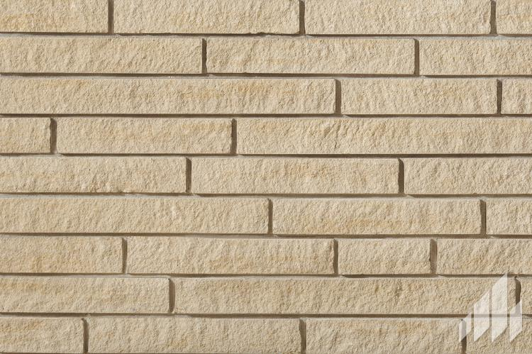 Sample of Arriscraft Contemporary Brick in the colour Ivory White