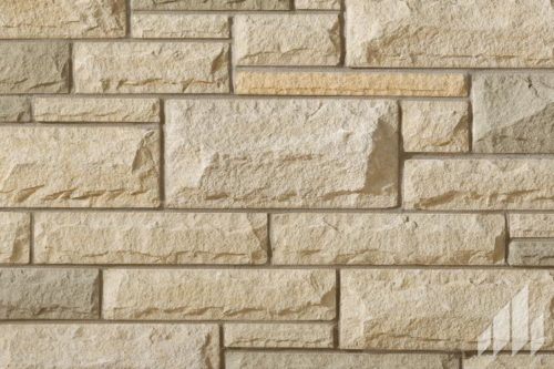Arriscraft - Laurier - Ivory White:Mosaic Blend