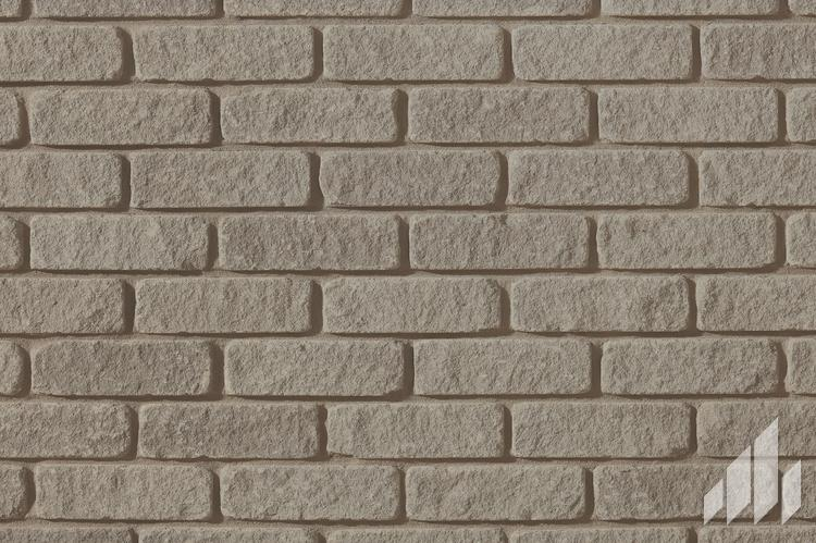 Sample of Arriscraft Tumbled Vintage Brick in the colour Mystic Grey
