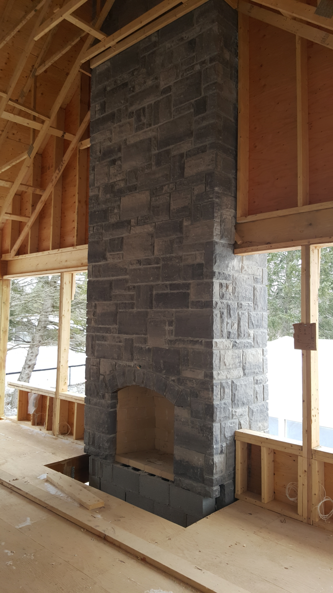 stone fireplace contractor - amplify masonry - toronto & gta