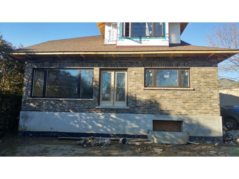 New Brick and Stone Custom Home