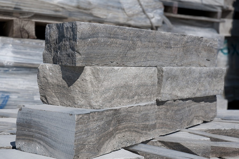 Natural stone products used by a stone mason for Amplify Masonry