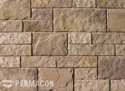 Permacon - Cinco Stone - Range Ambroise Beige