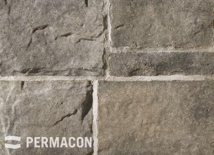 Permacon - Seigneurial Stone - Cream, Grey and Black