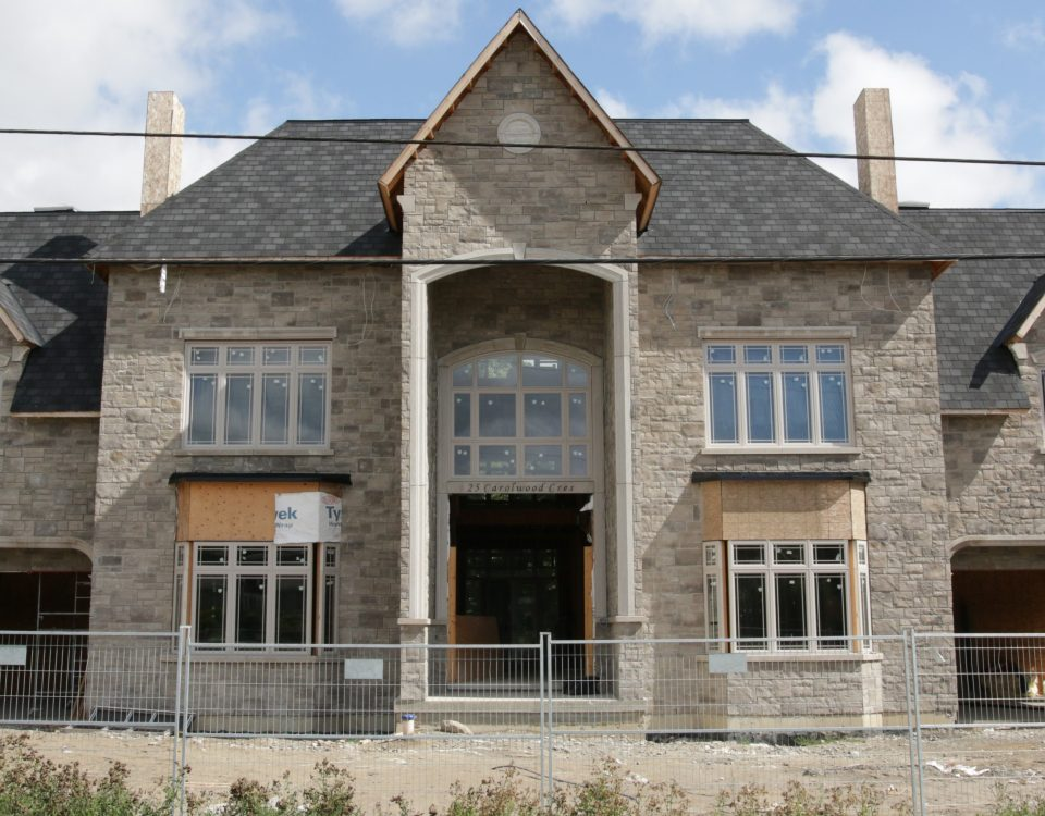 Permacon stone residential masonry contractor Mansion