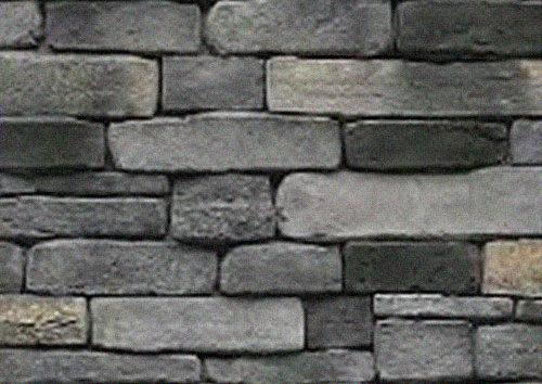 Brampton Brick - Stone Craft - Ledgestone - Kingsford Grey