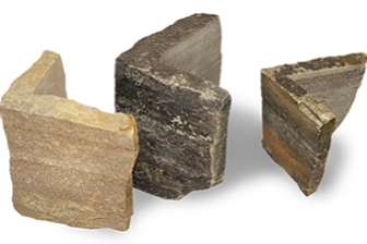 natural thin stone brick veneer samples